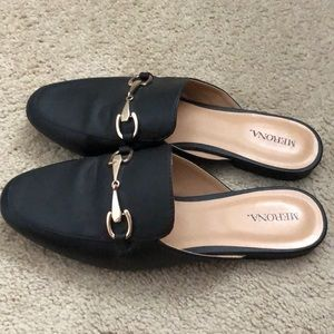 Target backless loafers